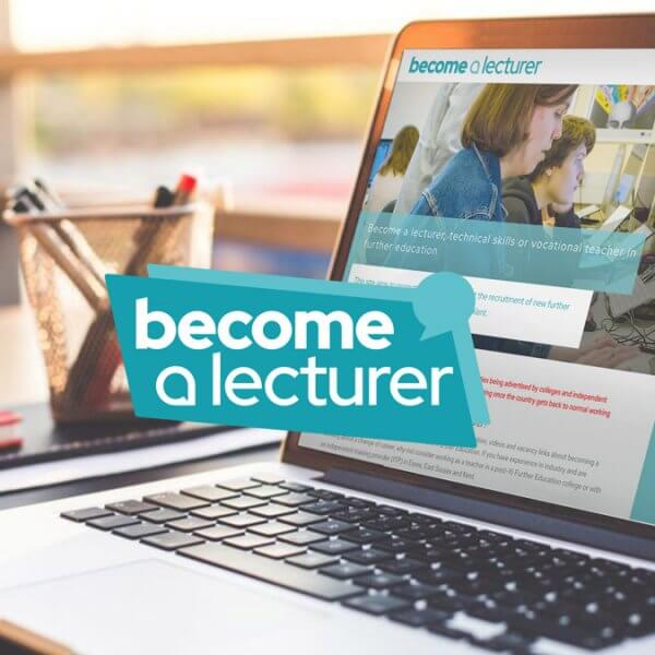Become a lecturer website - Mosaic Publicity