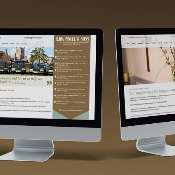 R Gwinnell & Son website - Mosaic Publicity